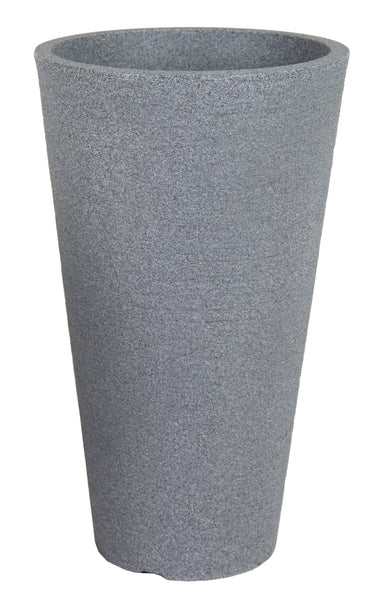 Odeon Arcos Vase Dark Grey D33.5H66