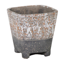 Diara Square Pot Grey W12H12