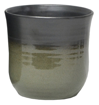 Emma Tall Pot Grey D15.5H15