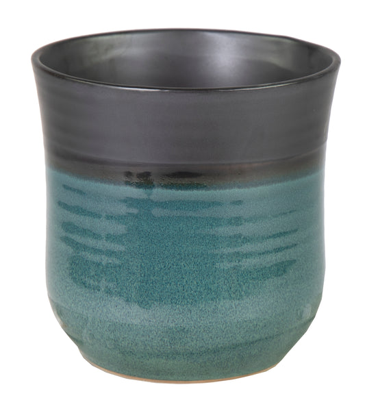 Emma Tall Pot Blue D18H18