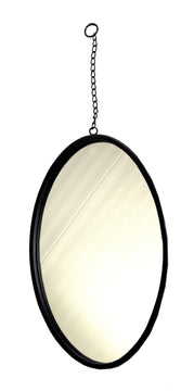 Eton Mirror Oval Chain Black D32H80