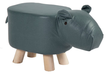 Animal Stool Cow Blue/Grey L50W28H24