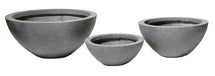 Clayfibre Bowl Low AuthGrey S3 D28/45H11.5/20