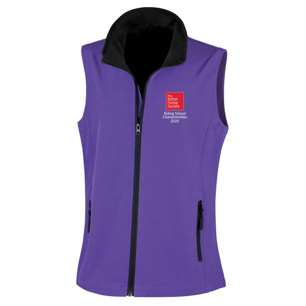 RSNC Fitted Softshell Gilet