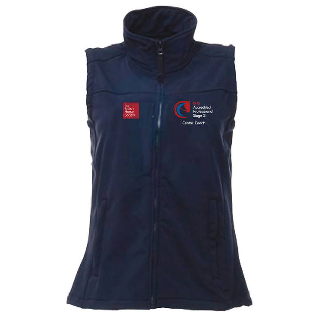 BHS Accredited Professional Fitted Softshell Gilet