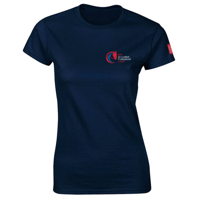 Accredited Professional Coach Fitted T-shirt