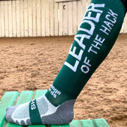 Leader of the Hack Riding Socks