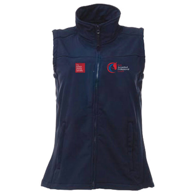 Accredited Professional Coach Fitted Softshell Gilet