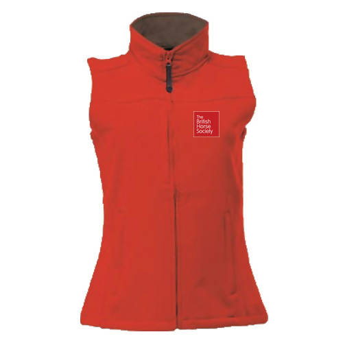 BHS Staff Softshell Fitted Gilet