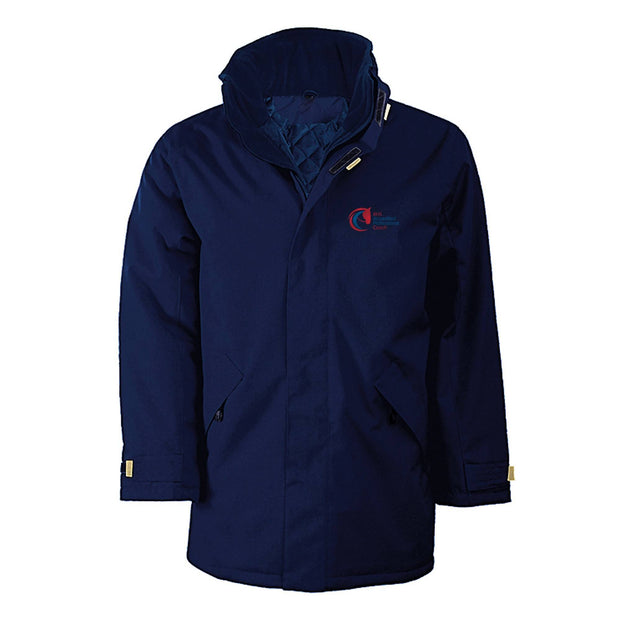 Accredited Professional Coach Long Unisex Parka Jacket