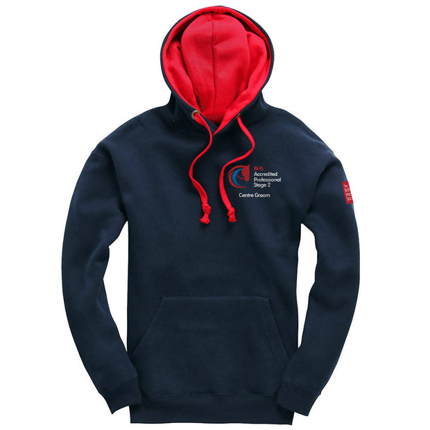 BHS Accredited Professional Unisex Contrast Hoodie