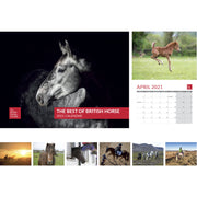 Best of British Horse 2021 Calendar