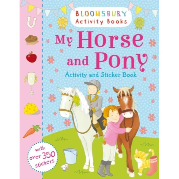 My Horse and Pony Activity and Sticker Book