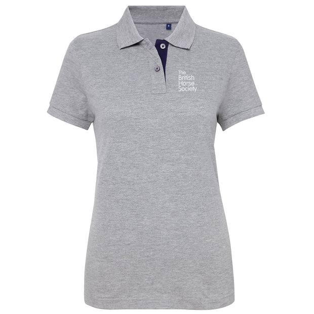 BHS Fitted Contrast Polo Shirt