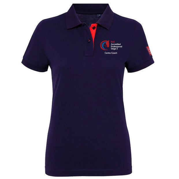 BHS Accredited Professional Fitted Polo Shirt