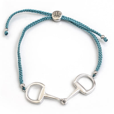 Sterling Silver Snaffle Friendship Bracelet
