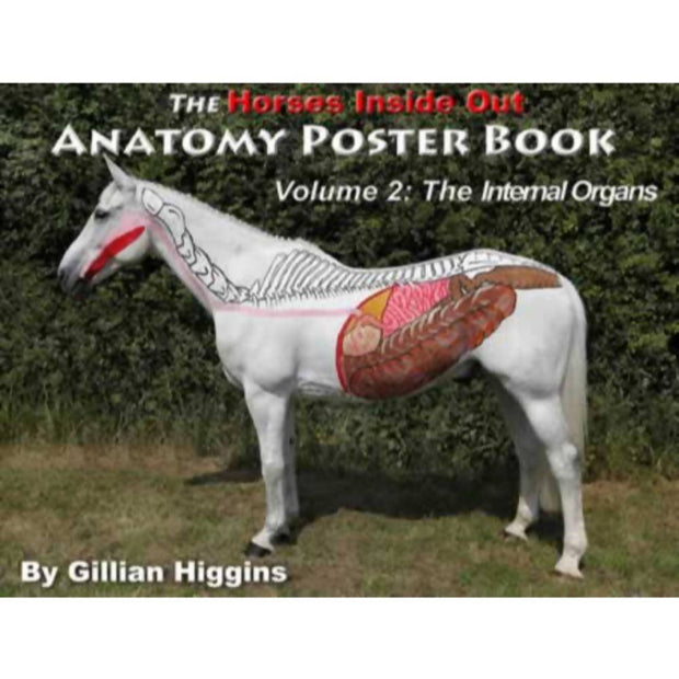 Horses Inside Out Anatomy Poster Book vol 2