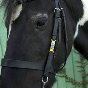 Small Silicone Slider Horse or Rider Tag (10-18mm bridle/collar width)