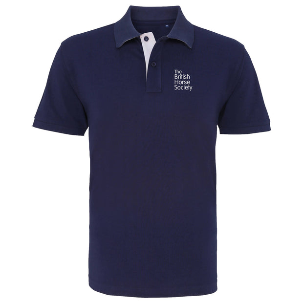 BHS Unisex Contrast Polo Shirt