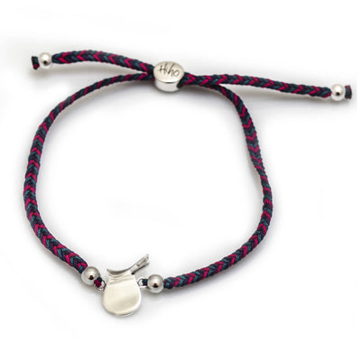 Sterling Silver Saddle Friendship Bracelet
