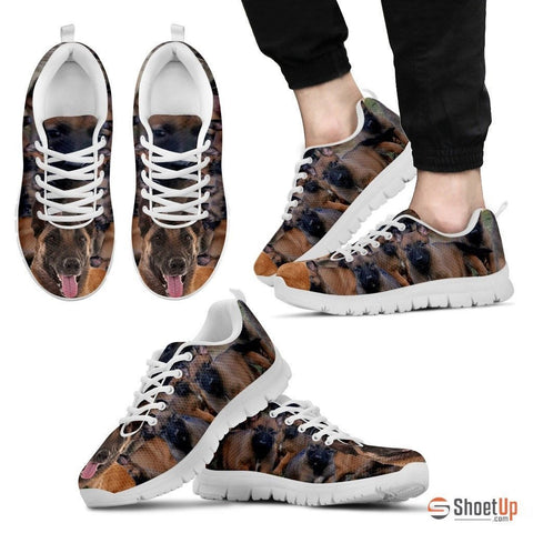 Belgian Malinois Dog Running Shoes For Men-Free Shipping