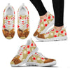 Duroc pig Print Christmas Running Shoes For Women-Free Shipping