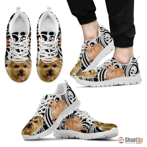 Norwich Terrier Dog Running Shoes For Men-Free Shipping