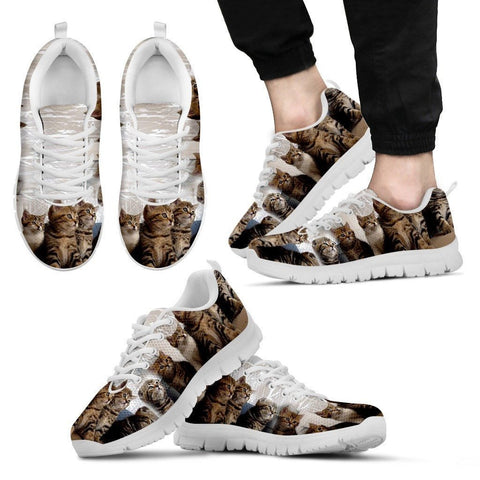 Lovely Cat Group-Running Shoes For Men-Free Shipping