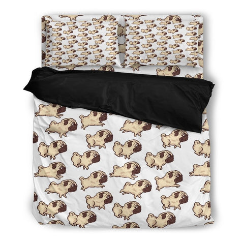 Pug Print Bedding Set 1 - Free Shipping