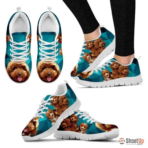 Poodle-Dog Running Shoe For Women-Free Shipping