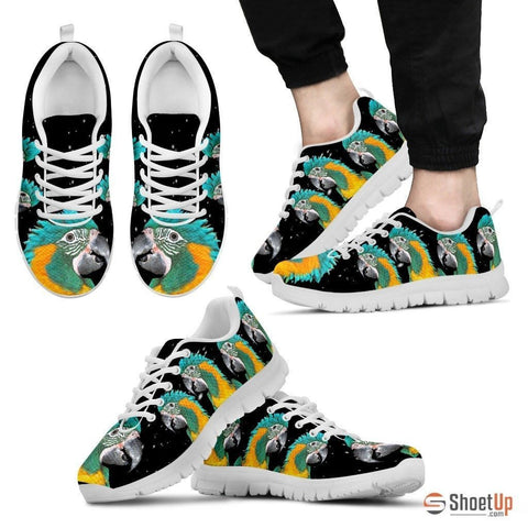 Blue-Threaded Macaw Running Shoes For Men-Free Shipping Limited Edition