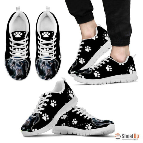 Black Labrador-Dog Running Shoes For Men-Free Shipping Limited Edition