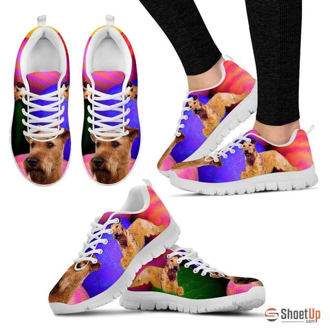 Irish Terrier Dog Running Shoes For Women-Free Shipping