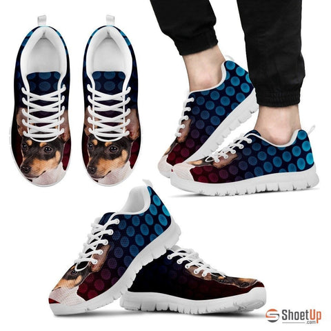 Toy Fox Terrier Dog Running Shoes For Men-Free Shipping