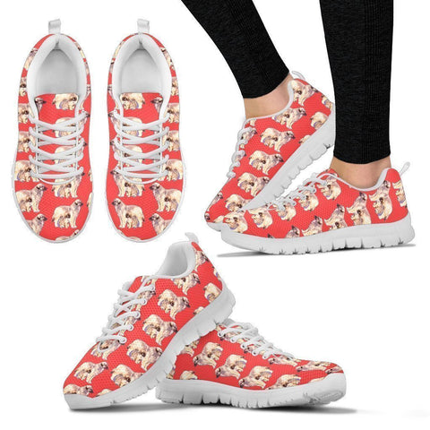 Leonberger Pattern Print Sneakers For Women- Express Shipping-Paww-Printz-Merchandise