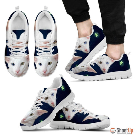 Oriental Cat Print Running Shoes For Men-Free Shipping
