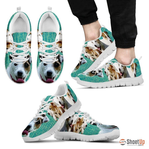 Parson Russell Terrier-Dog Shoes For Men-Free Shipping Limited Edition