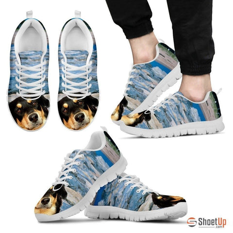 Australian Shepherd Dog Running Shoes- Men-Free Shipping