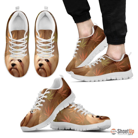 Lhasa Apso Dog Running Shoes For Men-Free Shipping
