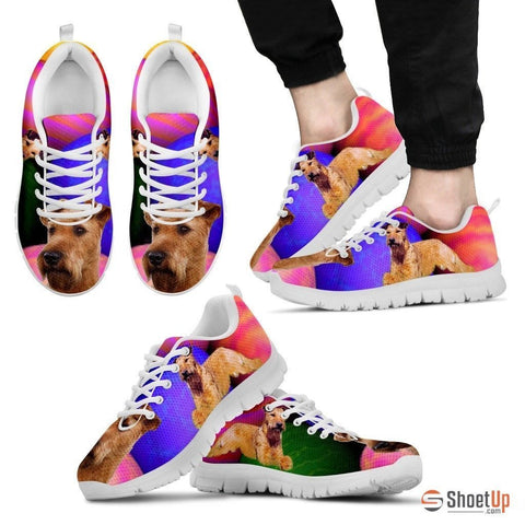 Irish Terrier Dog Running Shoes For Men-Free Shipping