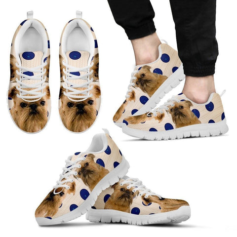 Brussels Griffon Dog Running Shoes For Men-Free Shipping