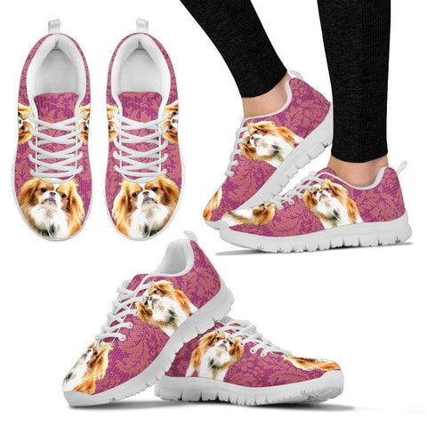 Customized Dog Print-Running Shoes For Women-Designed By Mary Wagman-Paww-Printz-Merchandise