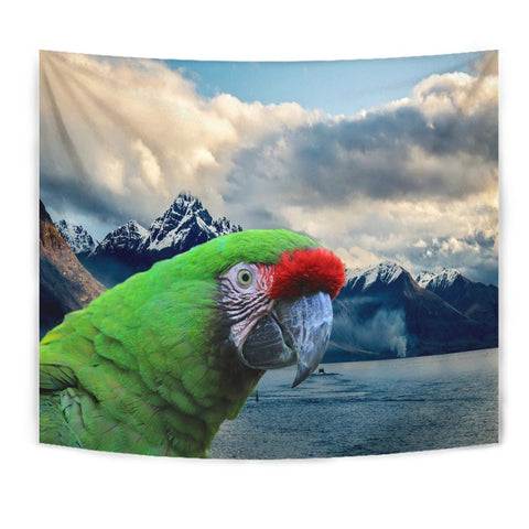 Military Macaw Print Tapestry- Free Shipping