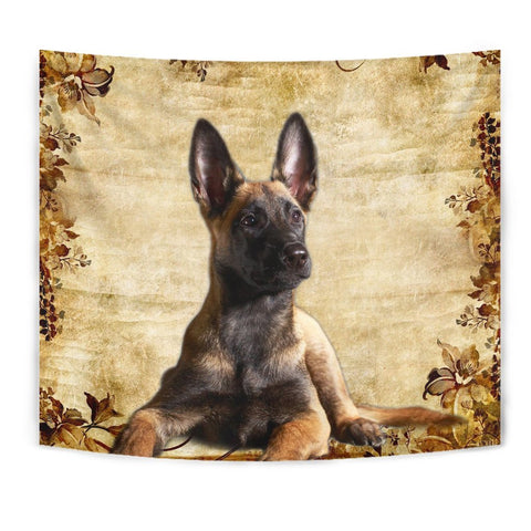 Cute Malinois Dog Print Tapestry-Free Shipping
