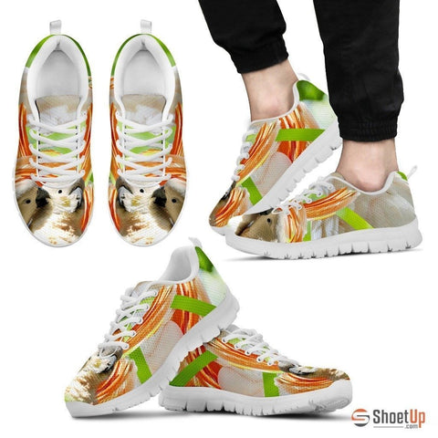 Cute Cockatoos Parrot Running Shoe For Men- Free Shipping