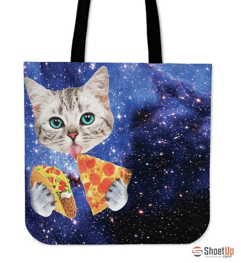 Hungry Cat-Tote Bag-Free Shipping