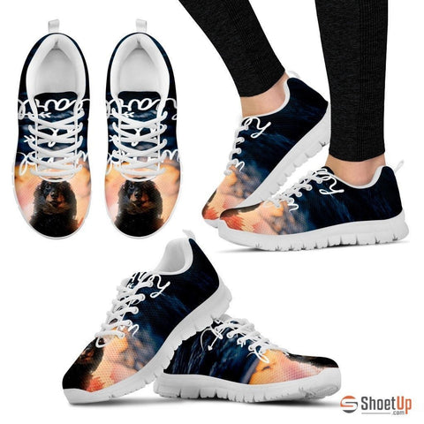 Richard Bliss/ Dog Print Running Shoe For Women- Free Shipping