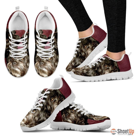 Elizabeth M Priest Cute Dog Print Running Shoe For Women- Free Shipping