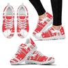 Friesian Horse Christmas Running Shoes For Women- Free Shipping