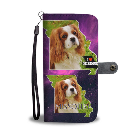 Cavalier King Charles Spaniel Print Wallet Case-Free Shipping-MO State